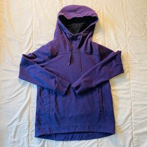 Purple heather Lululemon stretchy pullover hoody